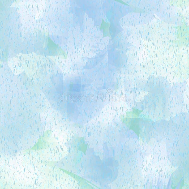 Hellblauer beschmutzter Hintergrund mit Tupfen vektor abbildung