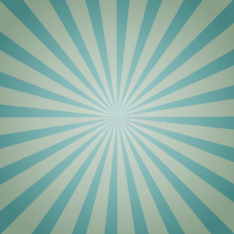 Hellblauer Farbexplosionshintergrund Auch im corel abgehobenen Betrag lizenzfreie abbildung