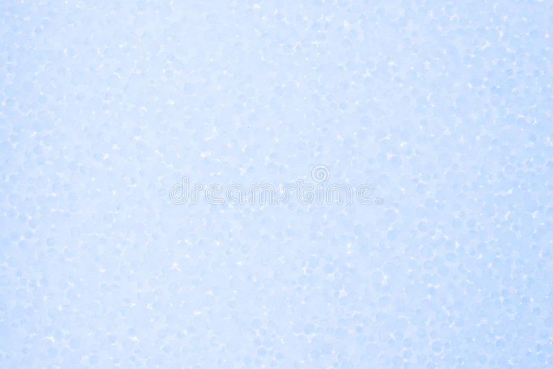 Hellblauer Hintergrund des Styroschaums stockfotos
