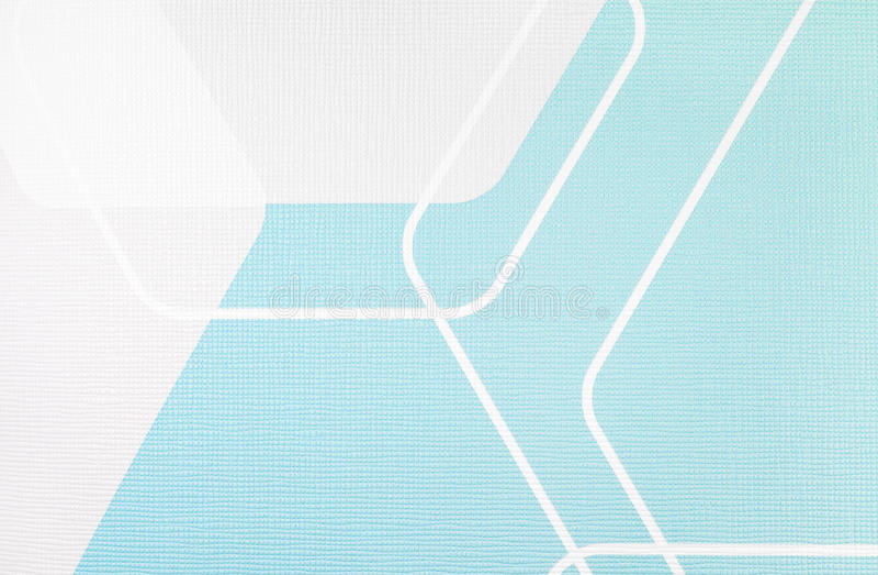 Hellblauer und weißer Hintergrund der regelmäßigen geometrischen Gewebebeschaffenheit, Stoffmuster lizenzfreie stockfotos