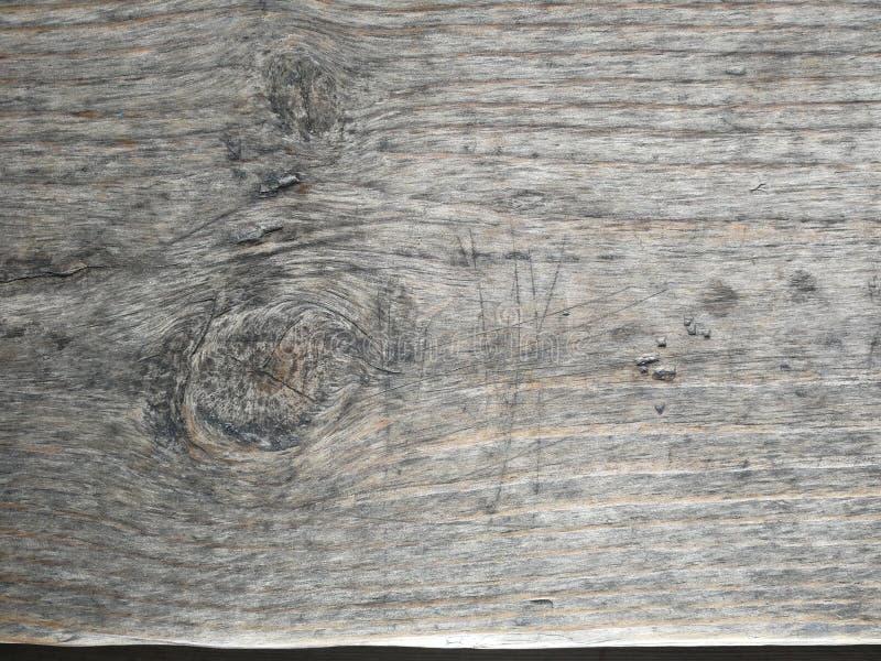 Hellbraune Holzoberfl?che, tiefes h?lzernes Korn, trockenes altes Holz, horizontale Streifen stockfotografie