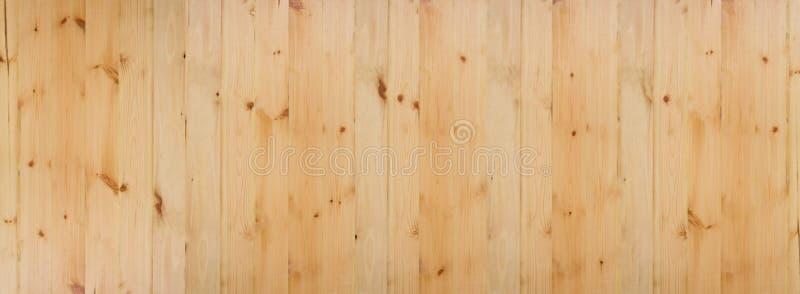 Hellbrauner Beschaffenheitshintergrund der hölzernen Planke lizenzfreie stockfotografie