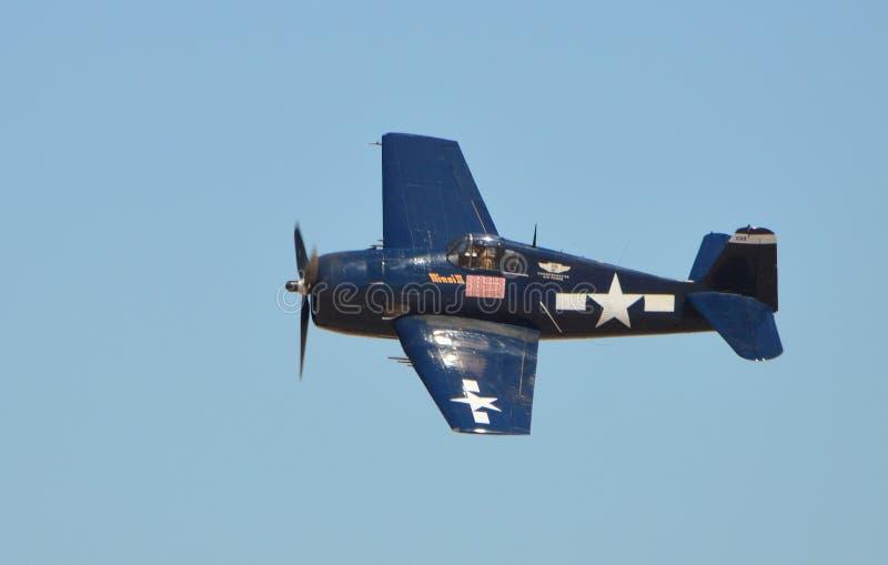 Hellcat för F6F 3/5 royaltyfri fotografi