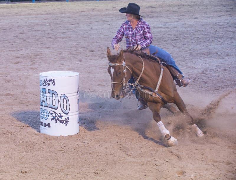 Download Helldorado days rodeo editorial photo. Image of barrel - 41460286