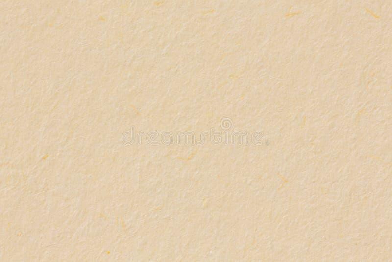 Helle beige Papierbeschaffenheit, groß als Hintergrund lizenzfreies stockbild