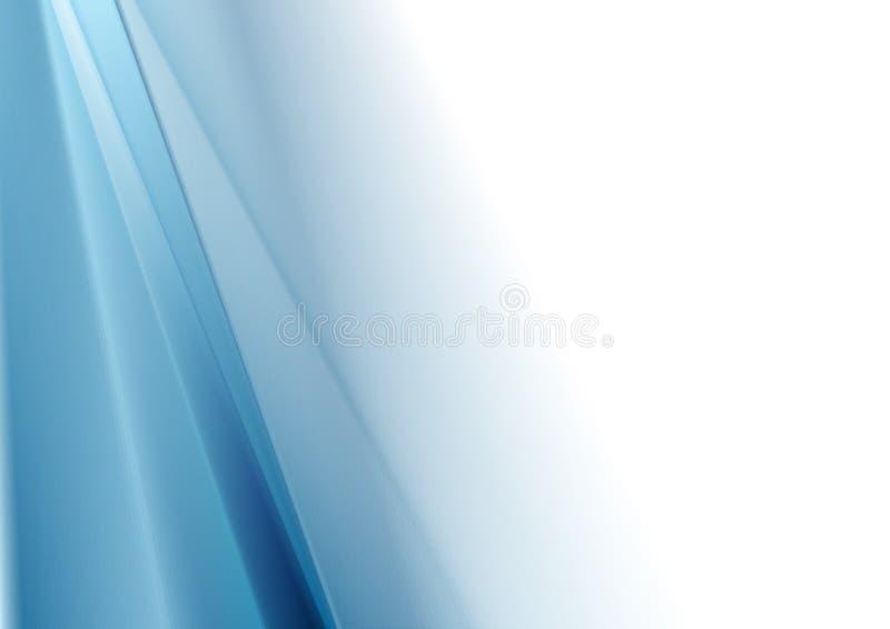 Helle blaue weiße Steigungsabstraktion lizenzfreie abbildung