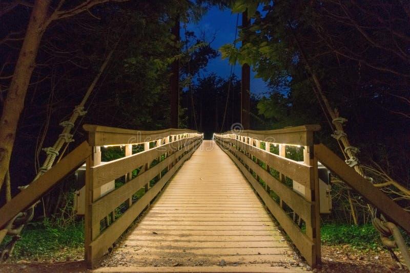 Helle Brücke stockbilder