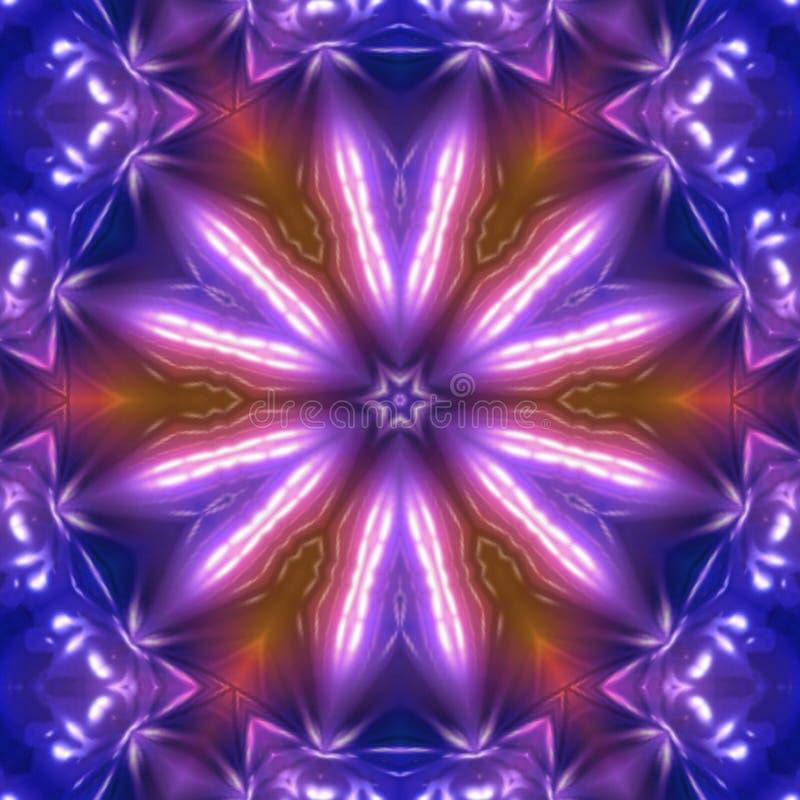 Helle Farben Tanzmusikeffekte stock abbildung