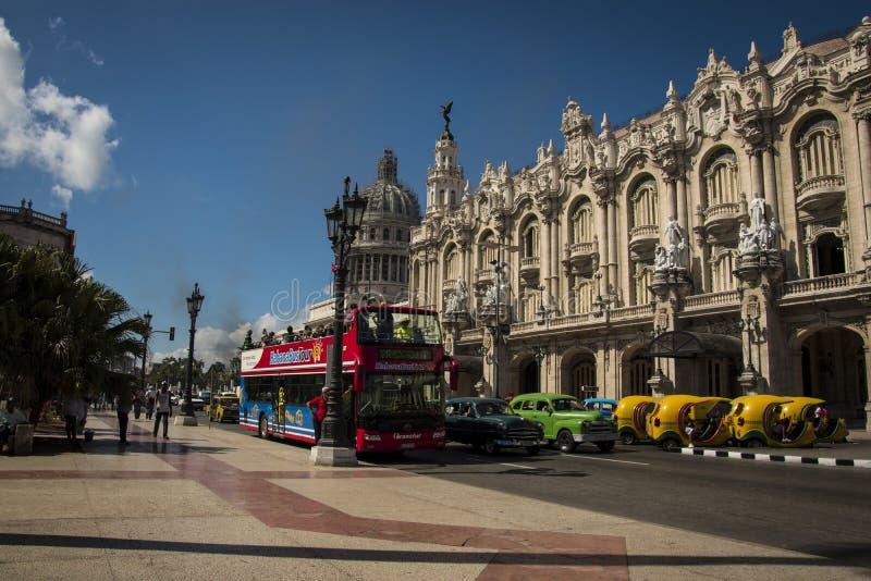 Helle Farben von Havana lizenzfreie stockfotos