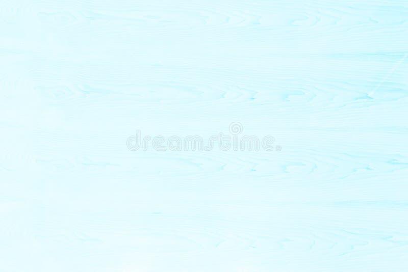 Helle hölzerne Beschaffenheit des Zusammenfassungstürkises über Kunstebene Hintergrund des Blaulichts Schalenbretterboden-Korntea stockfotos