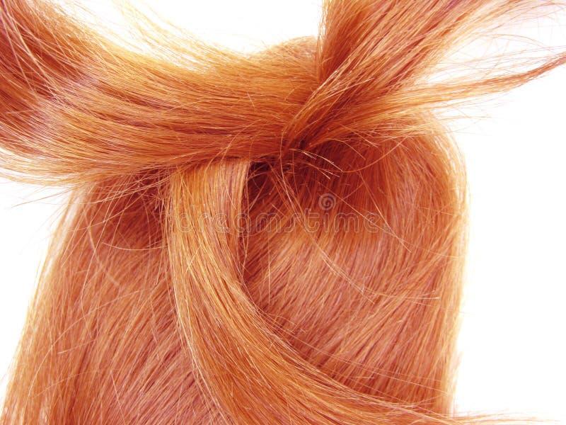 Helle Haarrotationen stockfoto