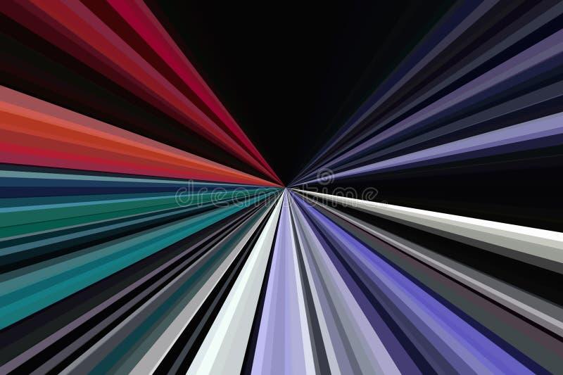 Helle Partei des hellen Nachtstrahls disco lizenzfreie stockbilder