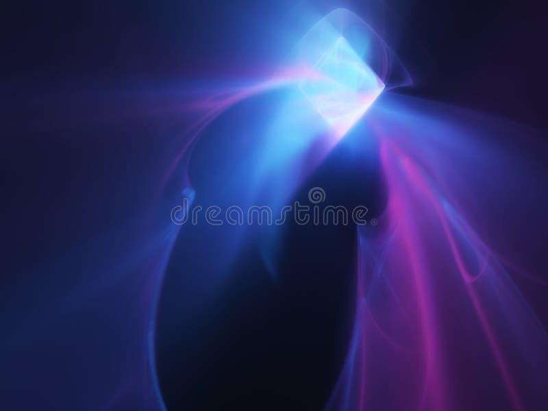 Helle Raute leuchtend in den verschiedenen Farben stock abbildung