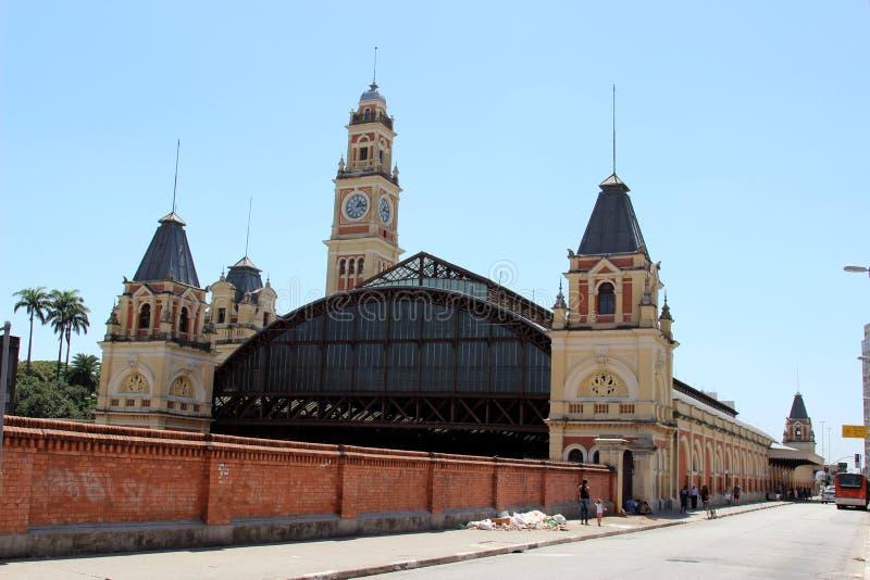 Helle Station Sao-Paulo Brasilien stockfoto