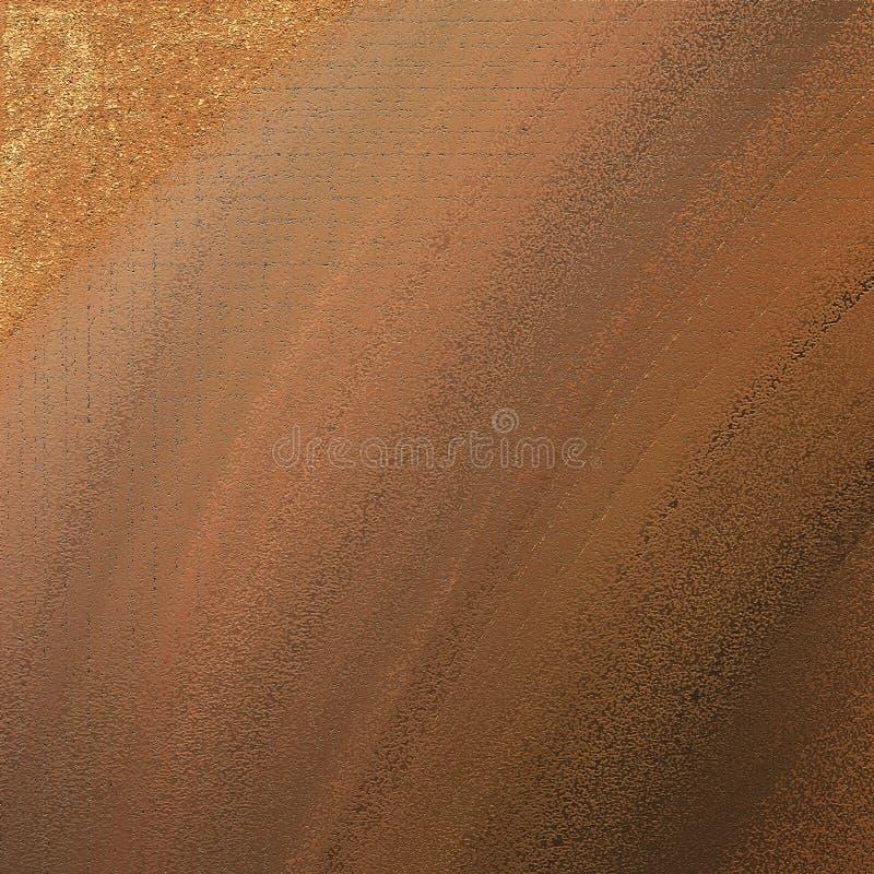 Helle Tapete Goldenes abgetöntes digitales Papier Gut für Handwerk, Geschenk, Dekor, wickelnd, Themen ein lizenzfreies stockfoto