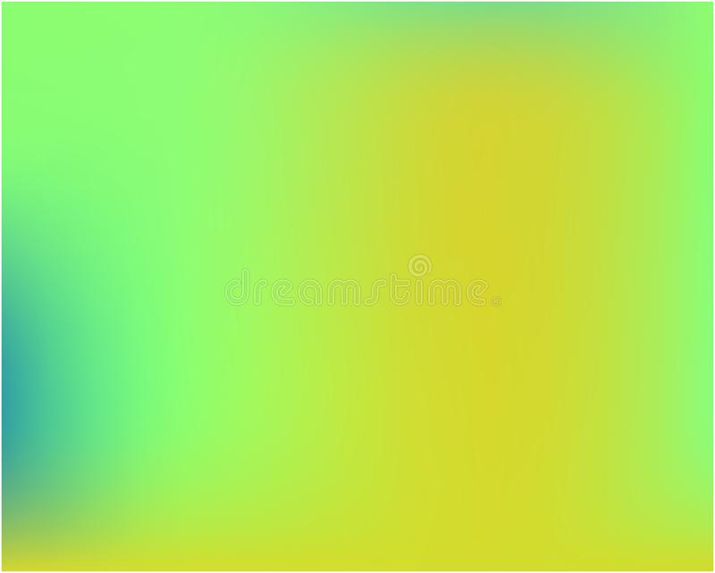 Helle unscharfe Grafiken von den verschiedenen Kombinationen von Farben und von Schatten lizenzfreie abbildung