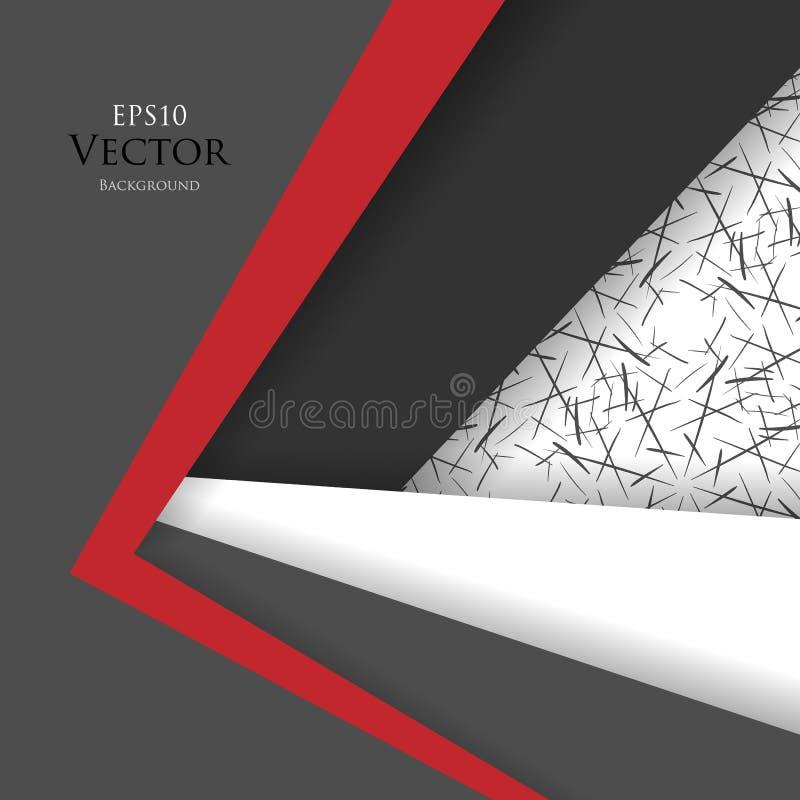 Helle vektorauslegung stock abbildung