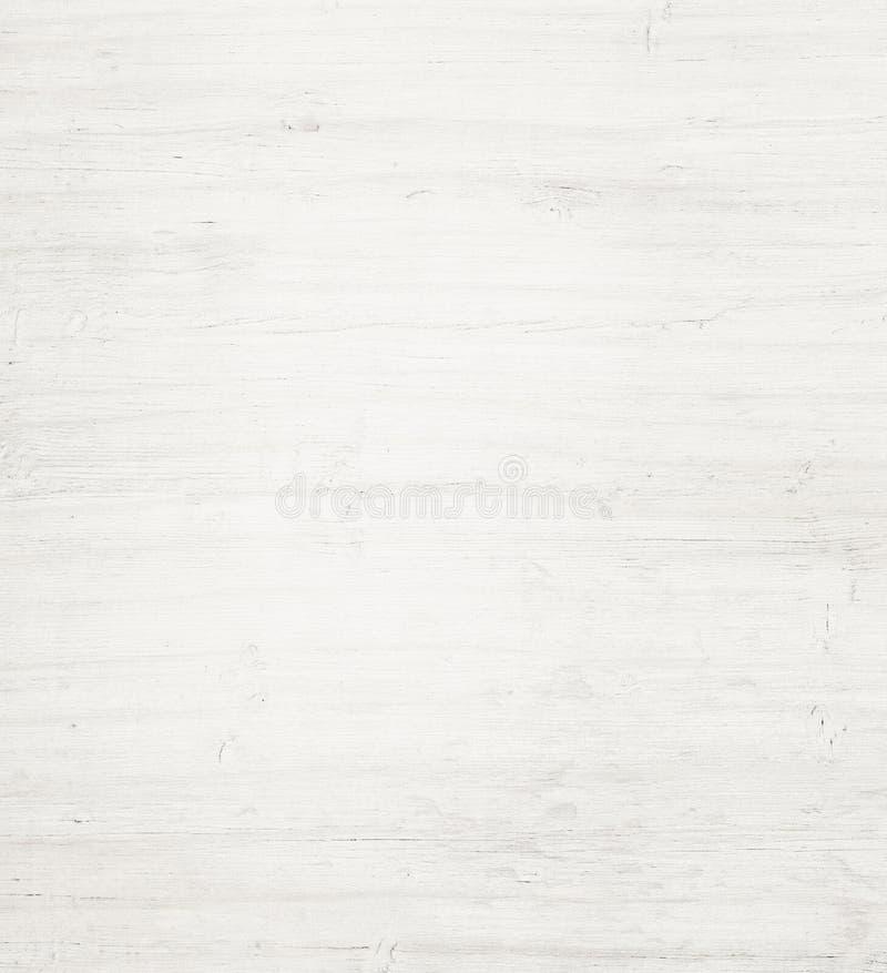 Helle weiße hölzerne Planke, Tischplatte, Fußbodenbelag oder Schneidebrett stockbild