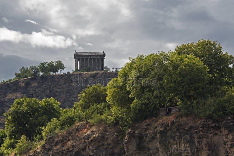 Hellenistic Tempel bei Garni, Armenien lizenzfreies stockbild