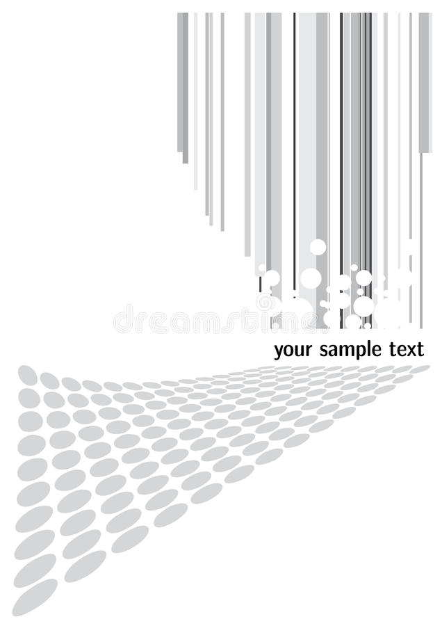 Heller abstrakter Hintergrund vektor abbildung