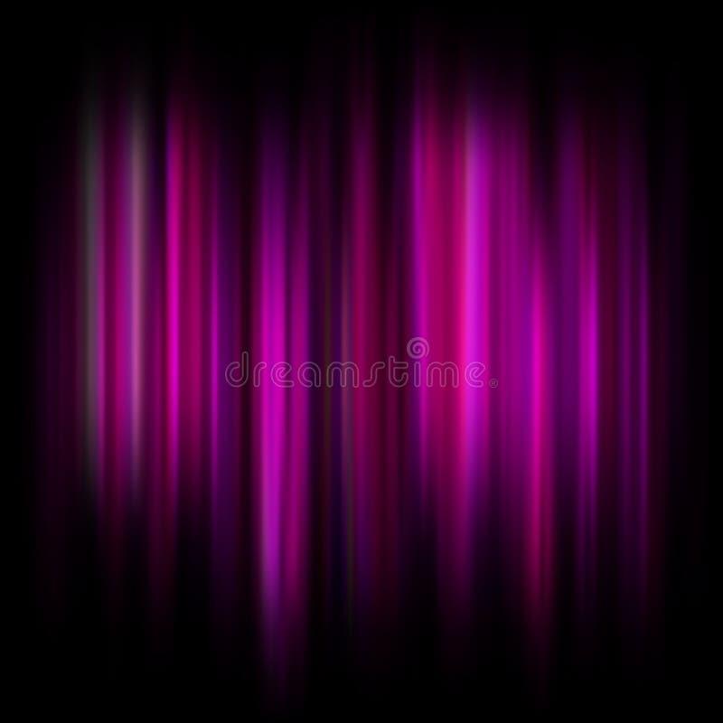 Heller abstrakter Hintergrund mit glühenden Partikeln und Linien Schöner abstrakter Strahlnhintergrund ENV 10 vektor abbildung