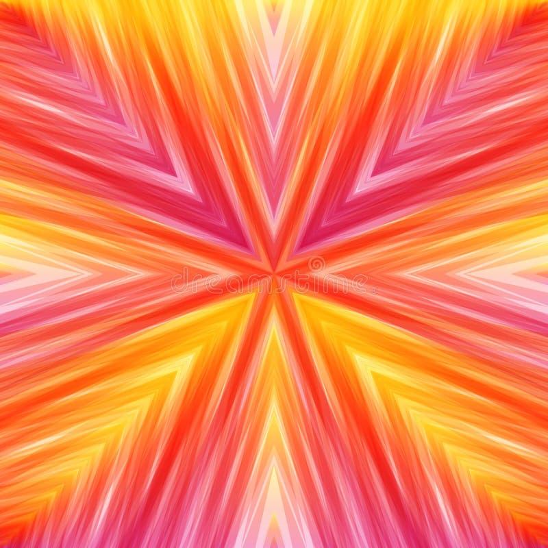Download Heller Gestreifter Eckiger Hintergrund Von Warmen Farben Stock Abbildung - Illustration von schief, umdrehung: 90235027