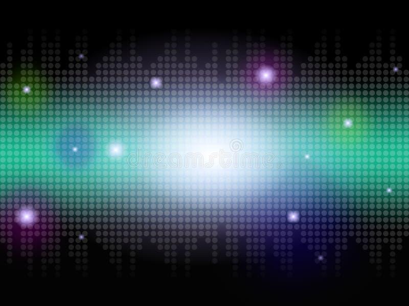 Heller Hintergrund bedeutet leuchtendes strahlendes und himmlisch lizenzfreie abbildung
