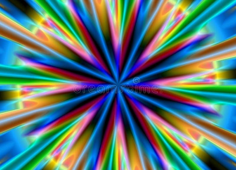 Heller mehrfarbiger Hintergrund lizenzfreie abbildung