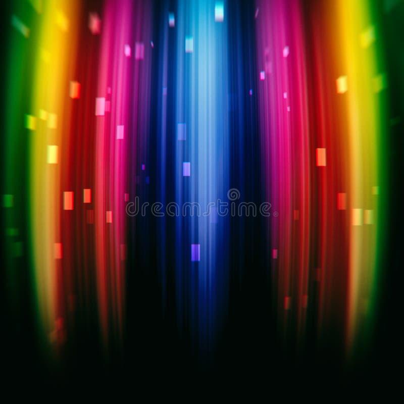 Heller Regenbogenbeschaffenheits-Steigungshintergrund vektor abbildung