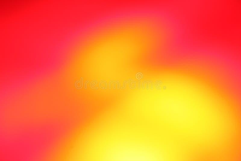 Heller rosafarbener, roter und gelber Hintergrund stockbilder
