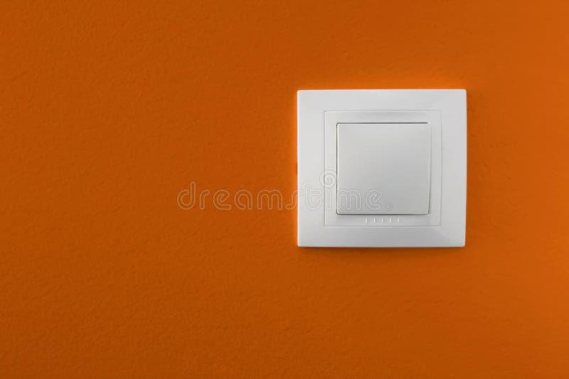 Heller Schalter stockfotografie