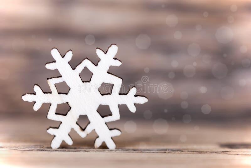 Heller Schneeflocken-Hintergrund stockbilder