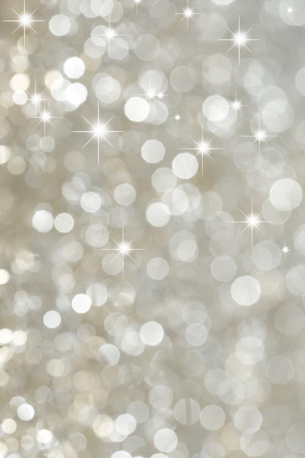 Heller silberner Hintergrund stockbilder
