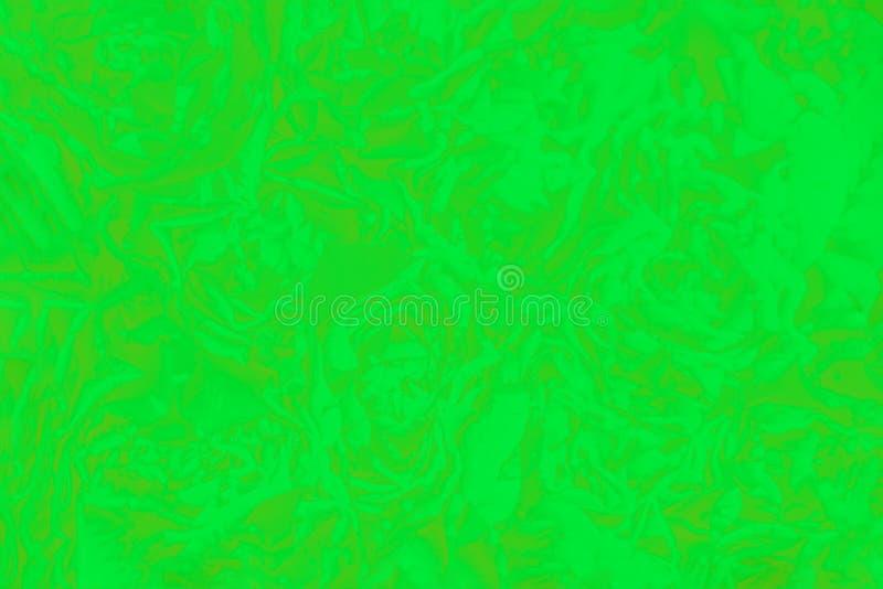 Heller ultra Grünhintergrund mit einem rosafarbenen Blumenmuster Absract Hintergrund lizenzfreie stockfotografie