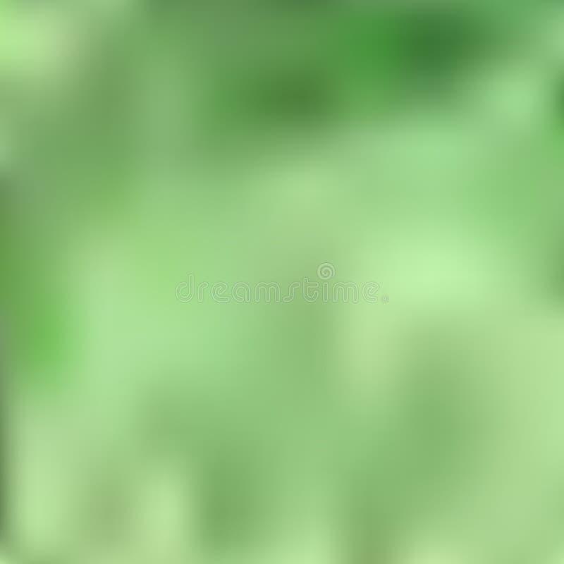 Heller unscharfer Hintergrund in Form von schönen Übergängen des Spargels, der Grasfarbe in weißem und in Grünem stock abbildung