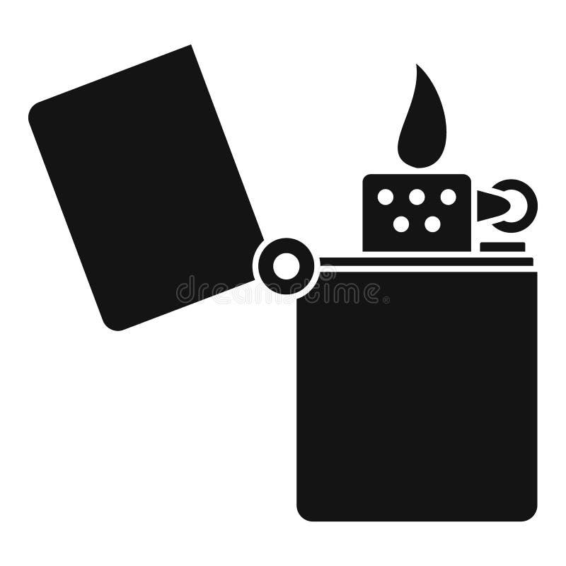 Hellere Ikone des Kerosins, einfache Art stock abbildung