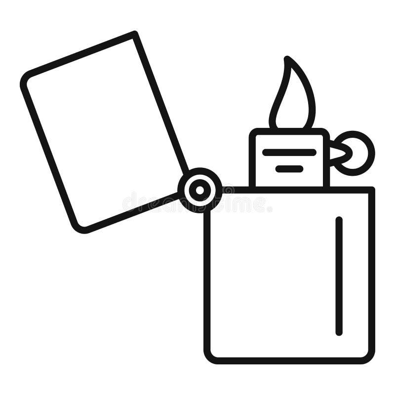 Hellere Ikone des Kerosins, Entwurfsart stock abbildung
