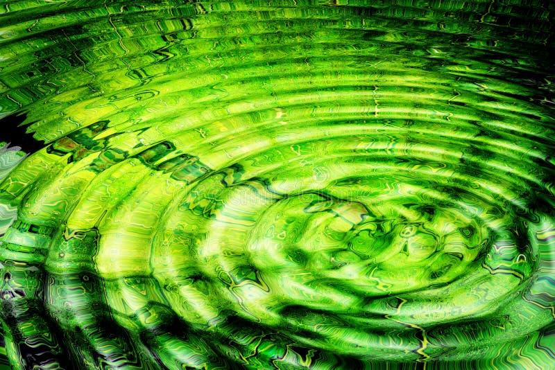 Helles abstraktes Wasser stock abbildung