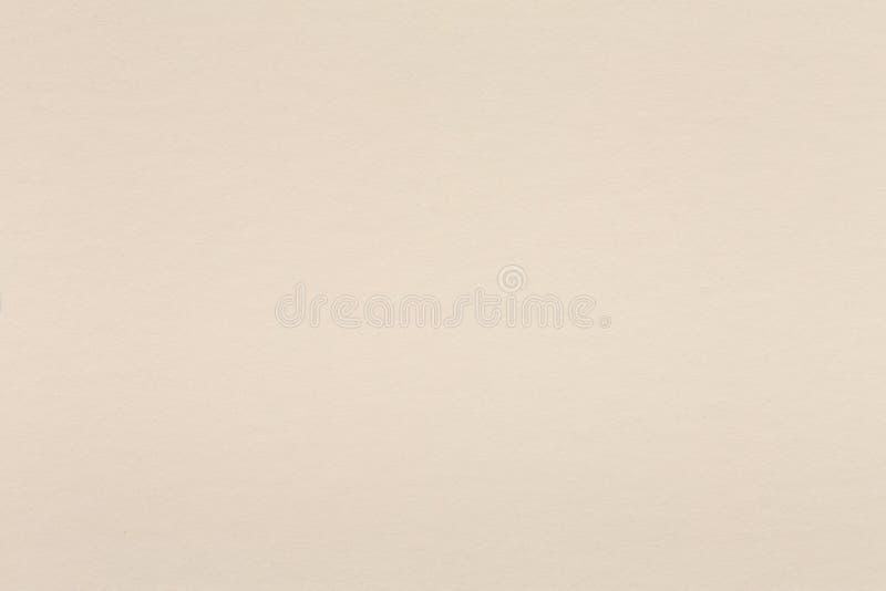 Helles beige Papier des Aquarells im helle Creme Sepiaton stockfoto