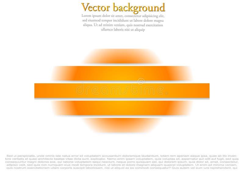 Helles Design der abstrakten Vektortechnologie vektor abbildung