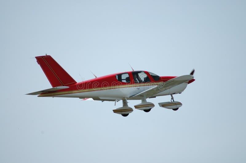 Helles Flugzeug stockfoto