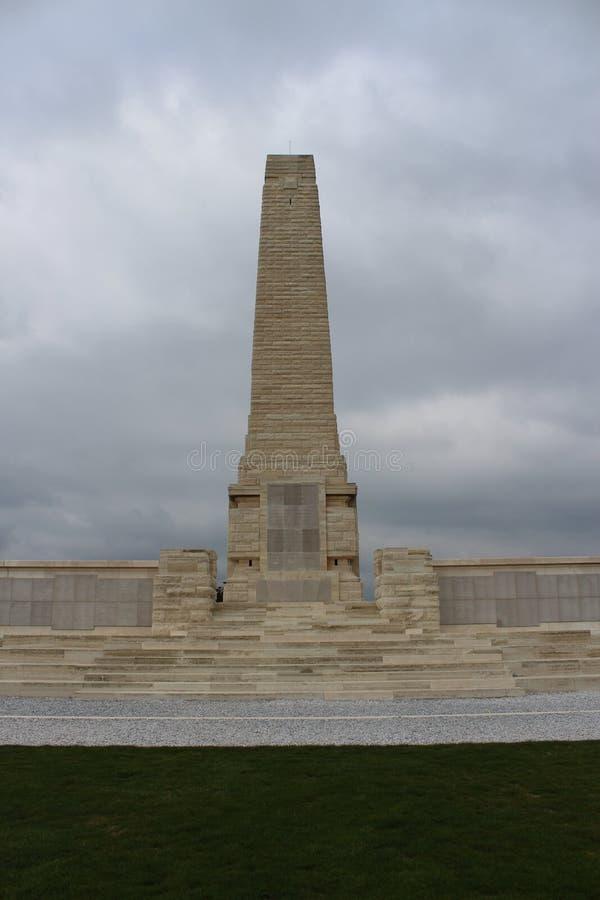 Helles Memorial monument. Çanakkale Gelibolu Helles memorial moment stock photo