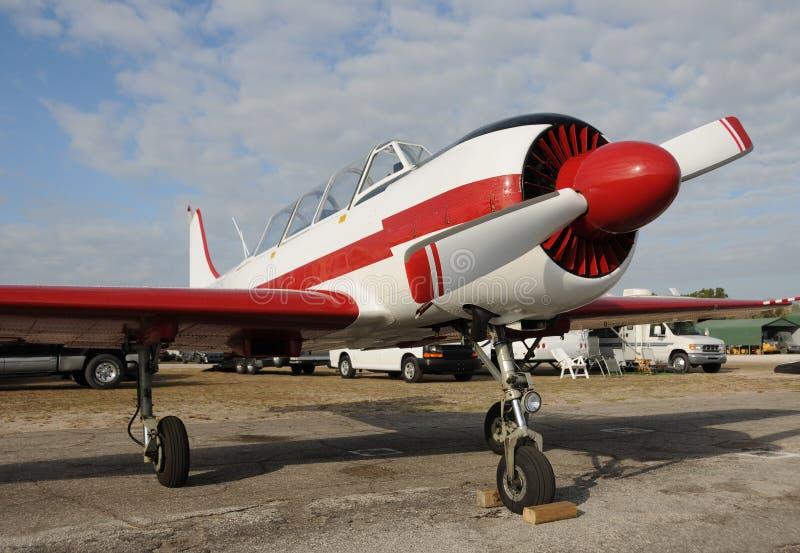 Helles privates Flugzeug stockfotos