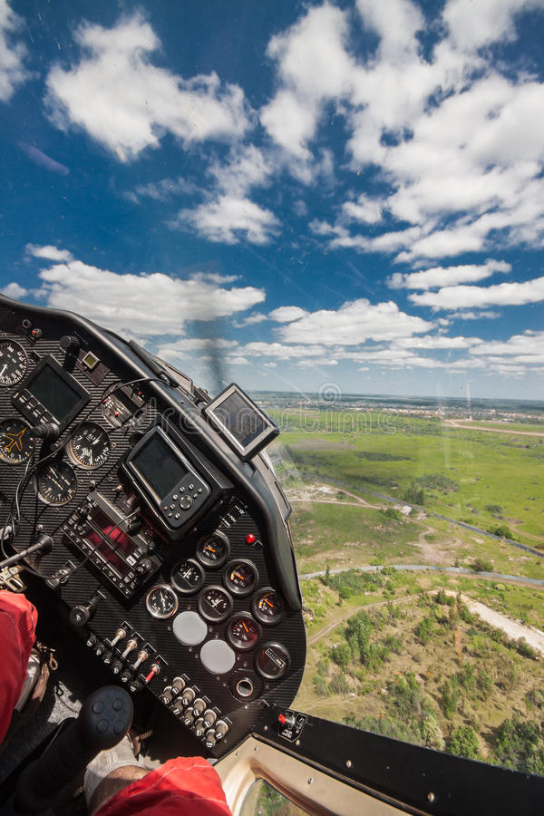 Helles privates Flugzeug lizenzfreies stockfoto
