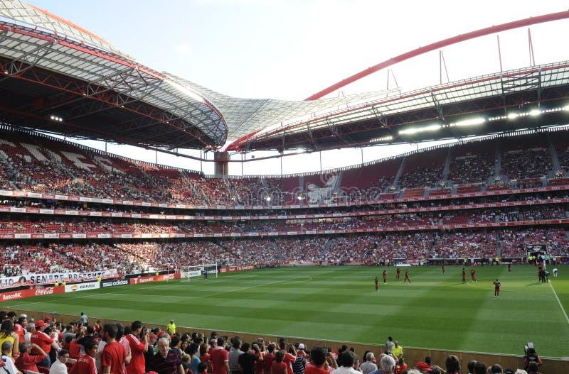 Benfica Stadion oder Estadio DA Luz stockfotos