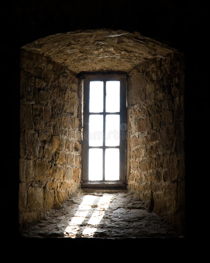 Helles Strömen durch Fenster lizenzfreies stockbild