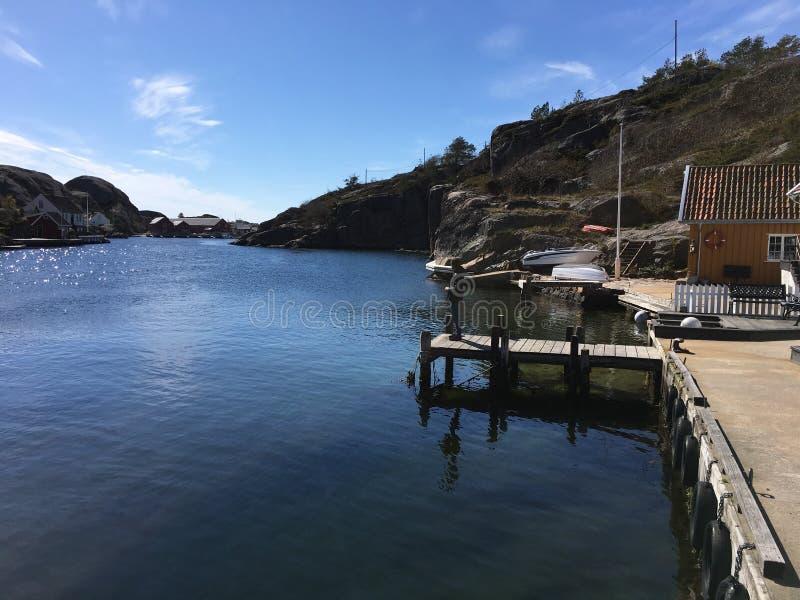 Hellesund Norvège photo stock