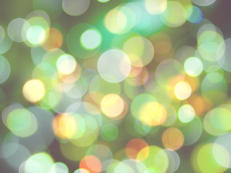 hellgrün, weiß und gelb, rund leuchtende, verschwommene Lichter voller Rahmen abstrakter Hintergrund stockbilder