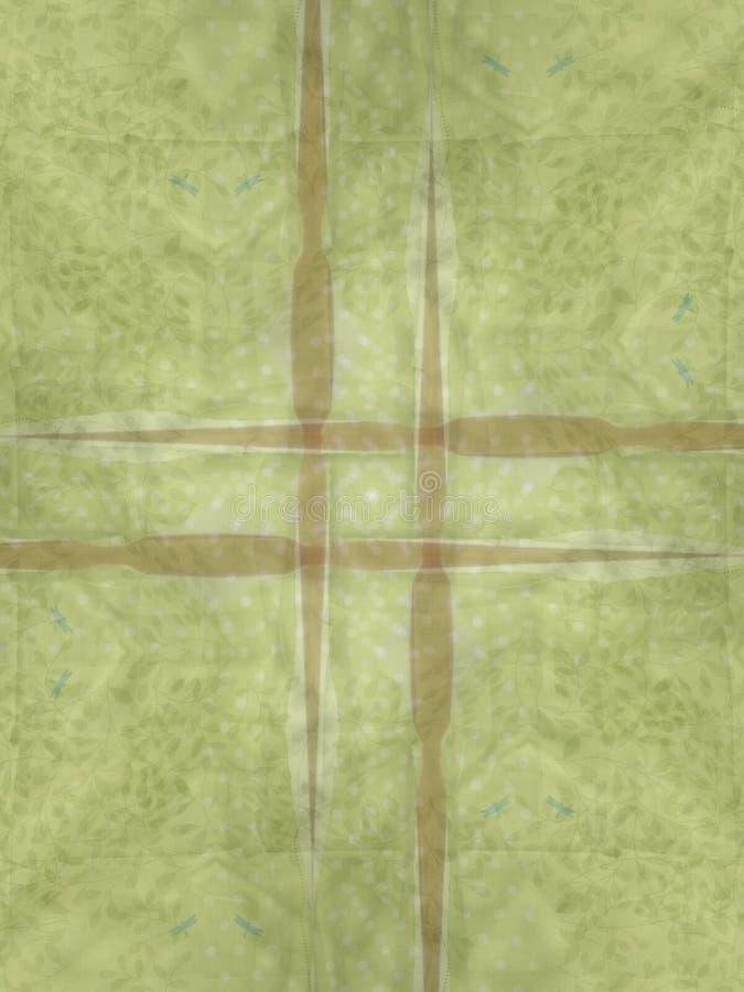 Hellgrüne Brown-Hintergründe stockfoto