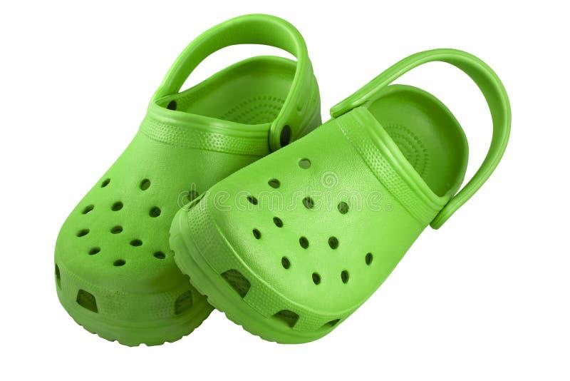 Hellgrüne Plastikklötze stockfoto